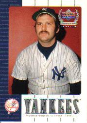 2000 Upper Deck Yankees Legends #13 Thurman Munson
