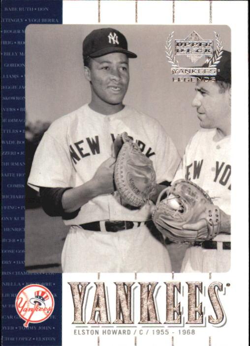 2000 Upper Deck Yankees Legends #16 Elston Howard