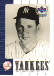 2000 Upper Deck Yankees Legends #18 Whitey Ford
