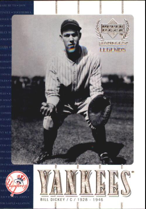 2000 Upper Deck Yankees Legends #45 Bill Dickey