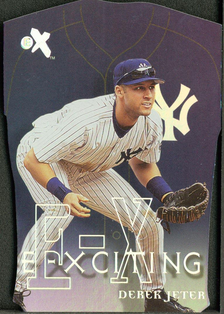 2000 E-X E-Xciting #XT7 Derek Jeter