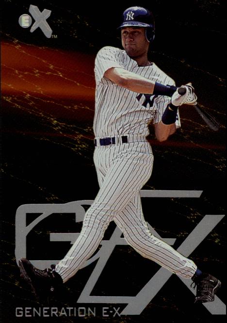 2000 E-X Generation E-X #7 Derek Jeter