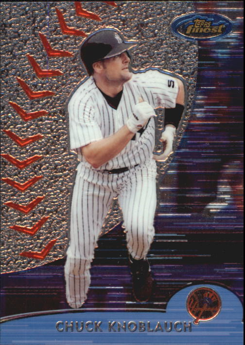 2000 Finest #212 Chuck Knoblauch