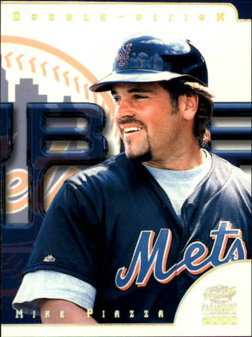2000 Paramount Double Vision #28 Mike Piazza