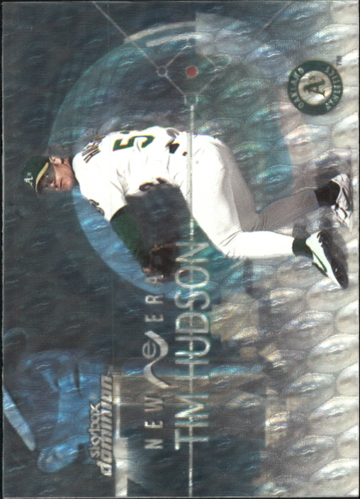 2000 SkyBox Dominion New Era Warp Tek #N6 Tim Hudson