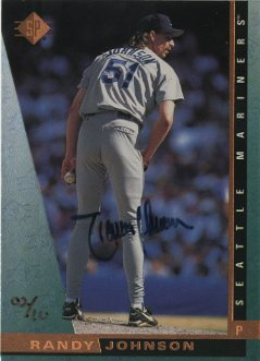 2000 SP Authentic Buybacks #75 Randy Johnson 97/10