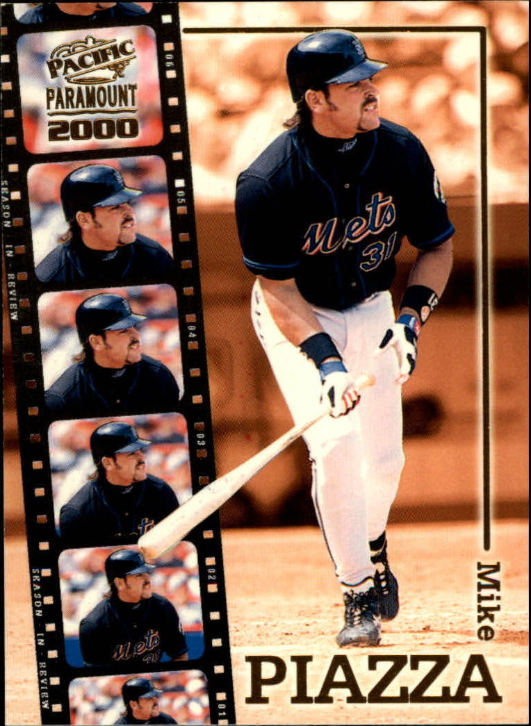 2000 Paramount Season in Review #16 Mike Piazza