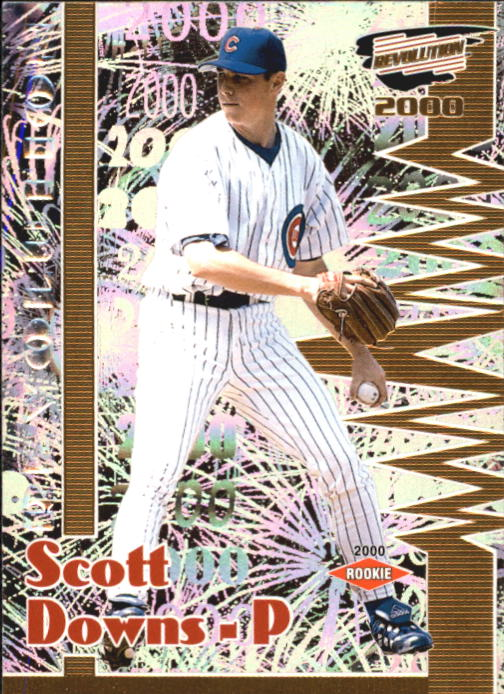 2000 Revolution #30 Scott Downs SP RC