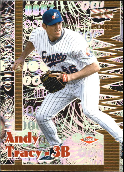 2000 Revolution #87 Andy Tracy SP RC