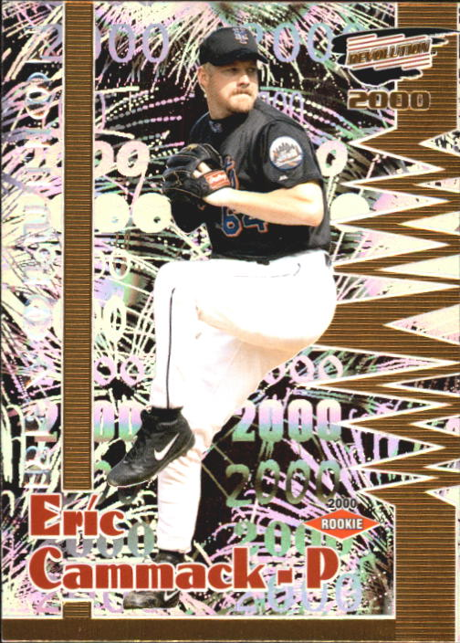 2000 Revolution #92 Eric Cammack SP RC