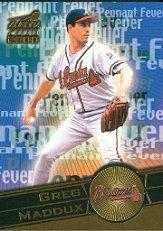 2000 Aurora Pennant Fever #3 Greg Maddux