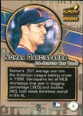 2000 Aurora Pennant Fever #5 Nomar Garciaparra back image