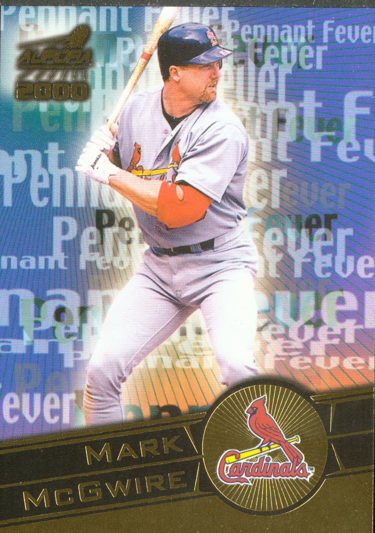 2000 Aurora Pennant Fever #15 Mark McGwire