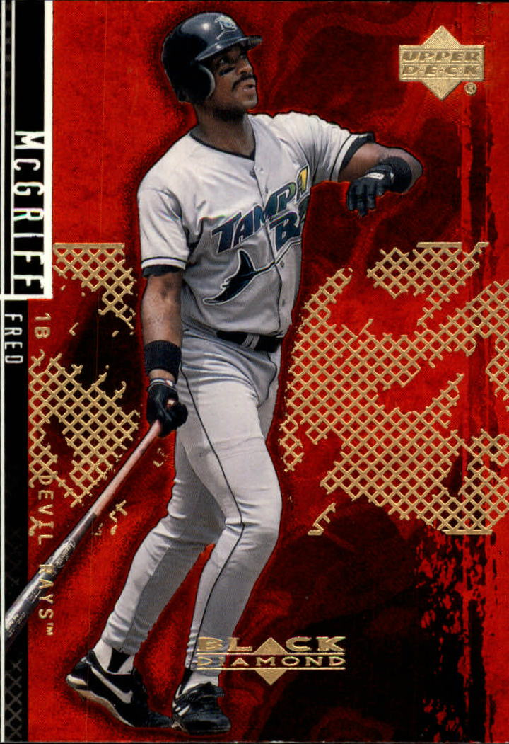 2000 Black Diamond Rookie Edition #12 Fred McGriff