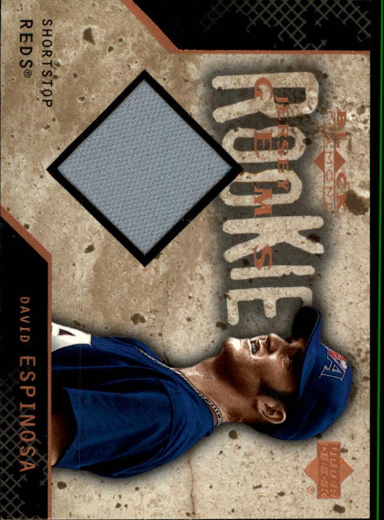 2000 Black Diamond Rookie Edition #127 David Espinosa JSY RC