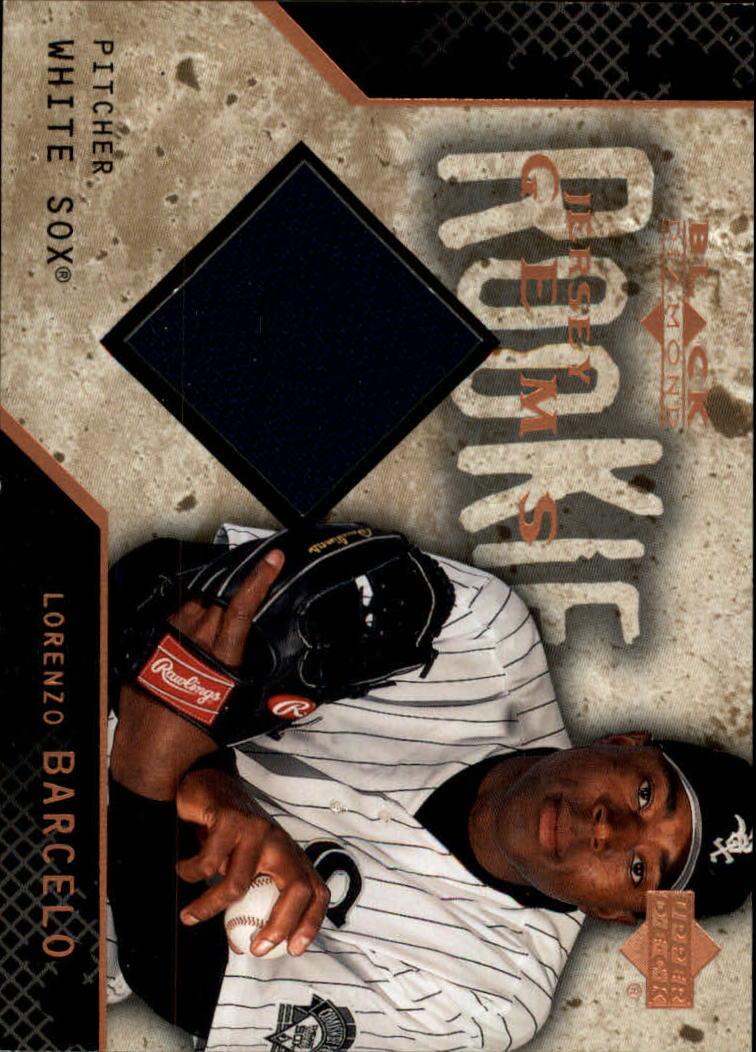 2000 Black Diamond Rookie Edition #135 Lorenzo Barcelo JSY RC
