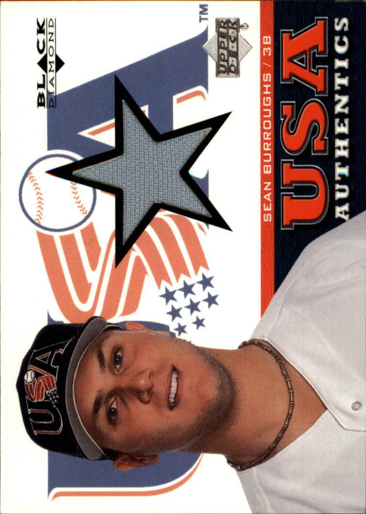 2000 Black Diamond Rookie Edition #137 Sean Burroughs USA