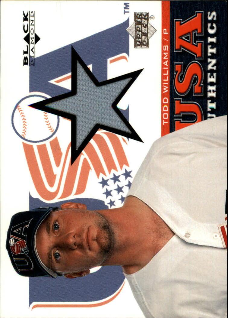 2000 Black Diamond Rookie Edition #138 Todd Williams USA
