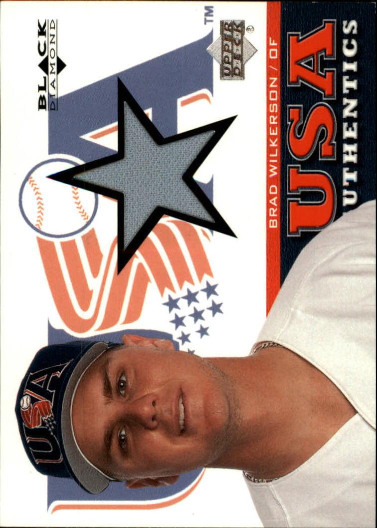 2000 Black Diamond Rookie Edition #139 Brad Wilkerson USA RC