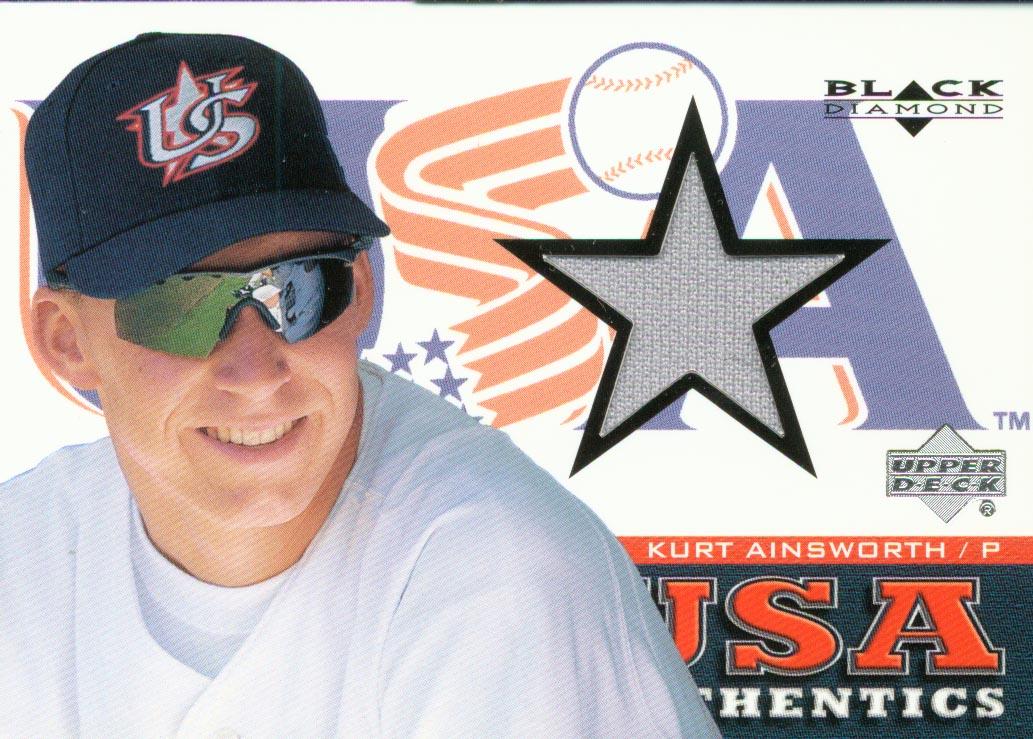 2000 Black Diamond Rookie Edition #141 Kurt Ainsworth USA RC