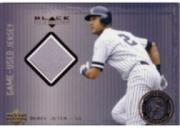 2000 Black Diamond Rookie Edition Authentic Pinstripes #APJ Derek Jeter Jsy/1000