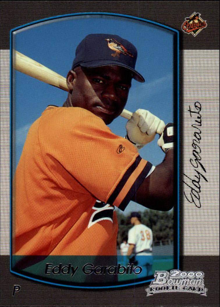 2000 Bowman Draft #20 Eddy Garabito RC