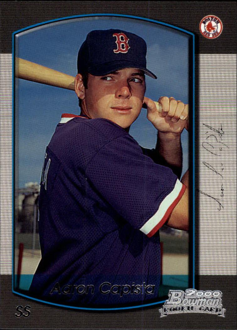 2000 Bowman Draft #21 Aaron Capista RC