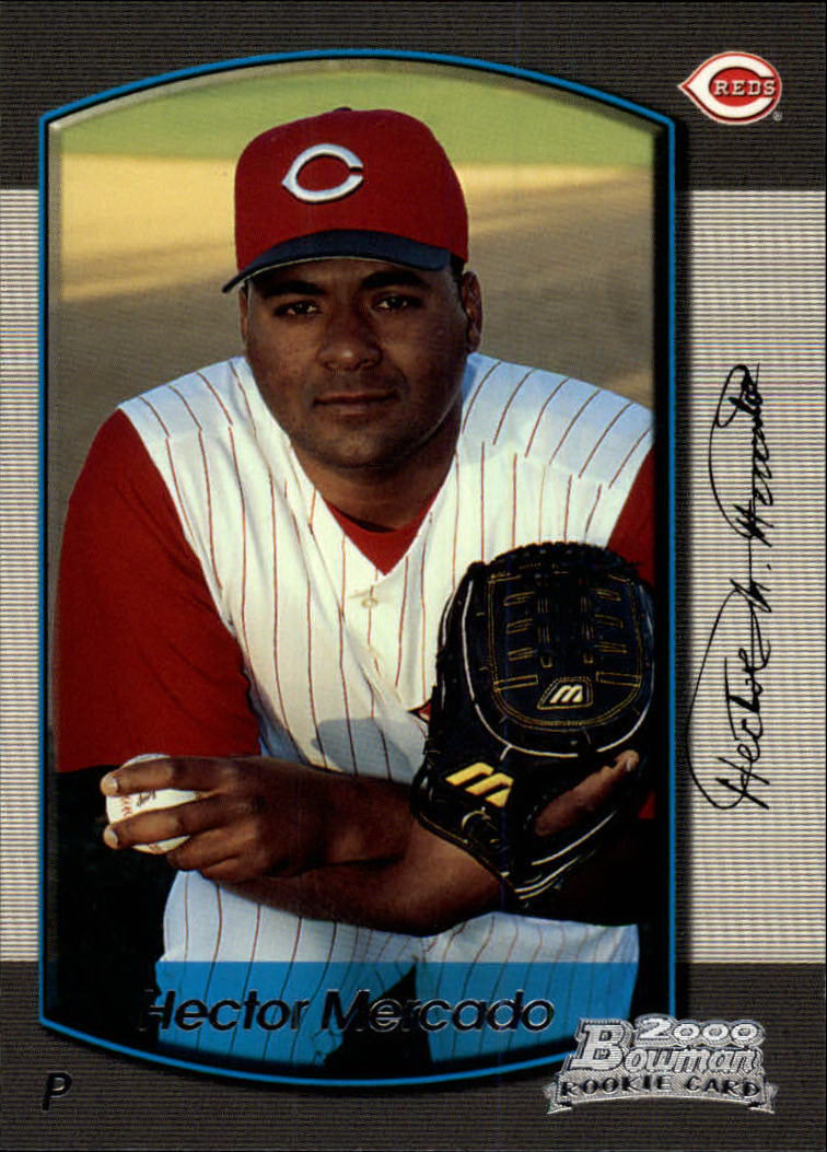 2000 Bowman Draft #27 Hector Mercado RC
