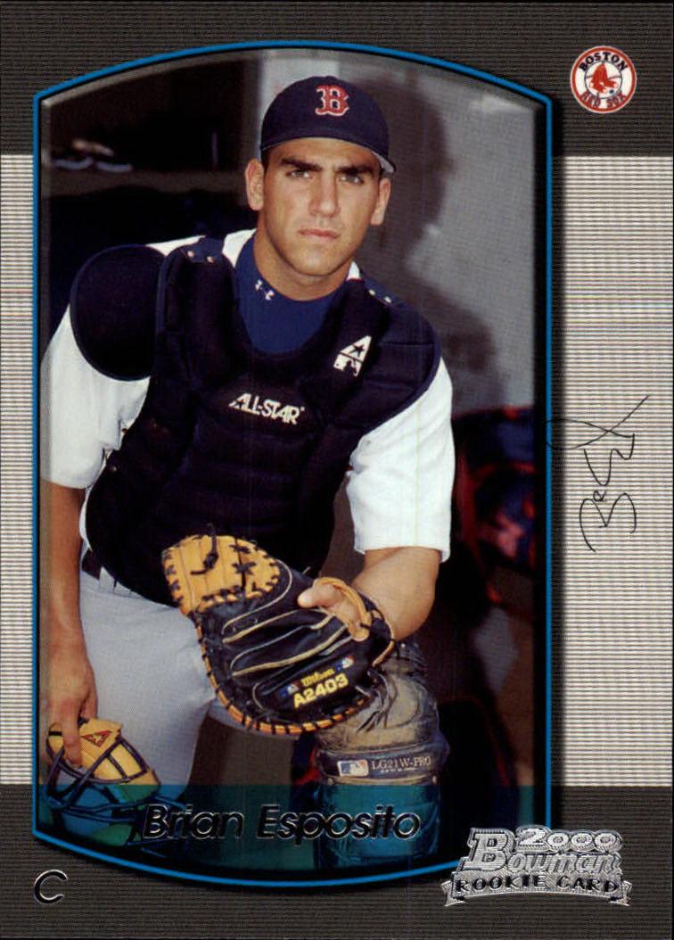 2000 Bowman Draft #37 Brian Esposito RC