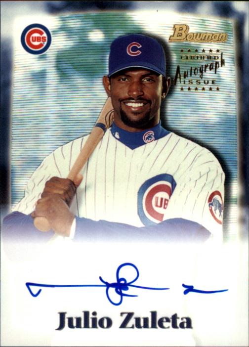 2000 Bowman Draft Autographs #BDPA5 Julio Zuleta