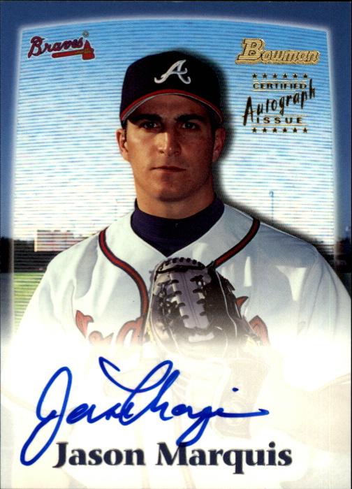 2000 Bowman Draft Autographs #BDPA12 Jason Marquis