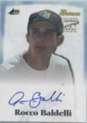 2000 Bowman Draft Autographs #BDPA25 Rocco Baldelli