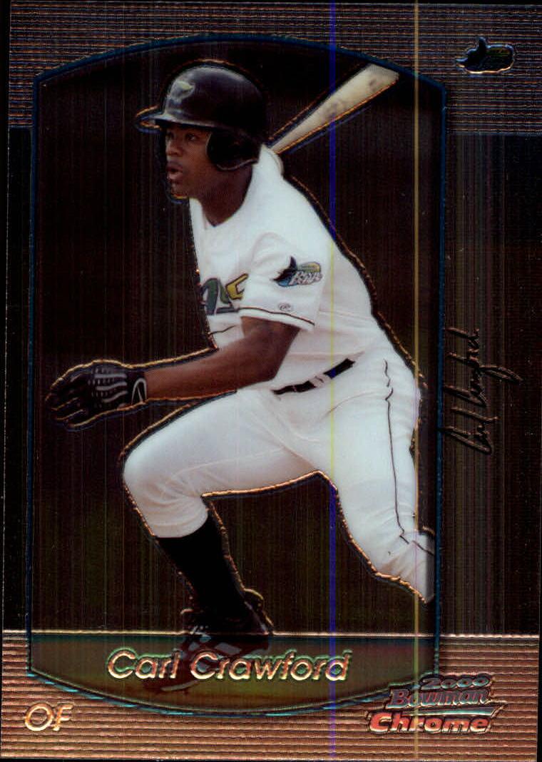 2000 Bowman Chrome #199 Carl Crawford