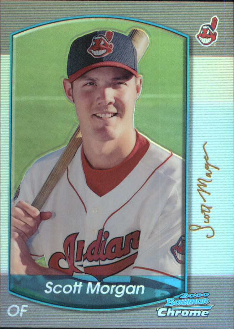 2000 Bowman Chrome Refractors #364 Scott Morgan
