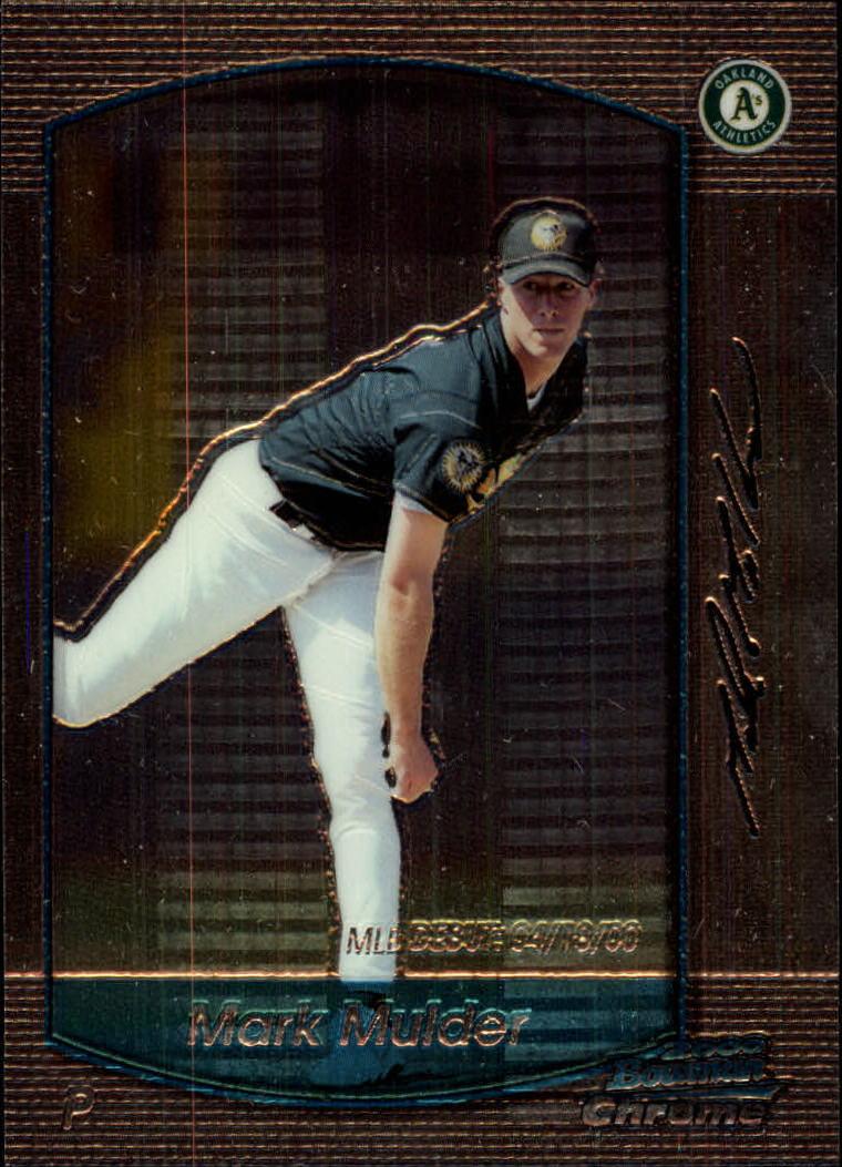2000 Bowman Chrome Draft #6 Mark Mulder