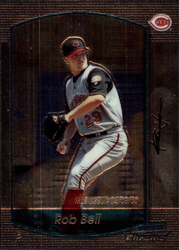 2000 Bowman Chrome Draft #7 Rob Bell