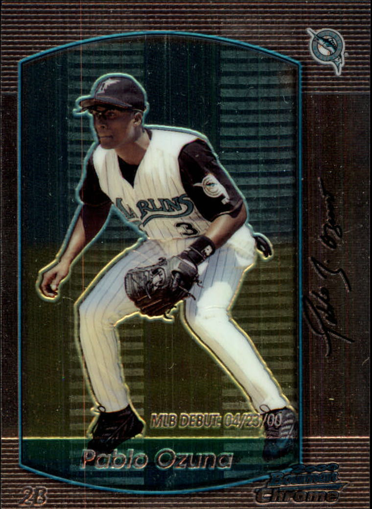 2000 Bowman Chrome Draft #10 Pablo Ozuna