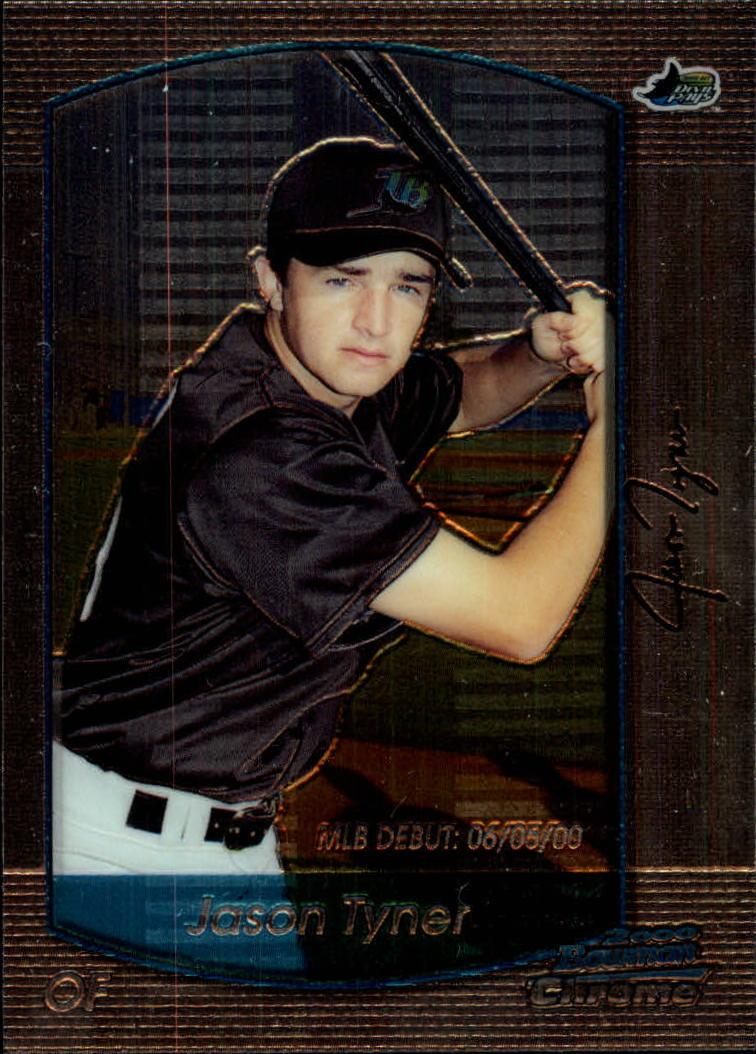 2000 Bowman Chrome Draft #11 Jason Tyner