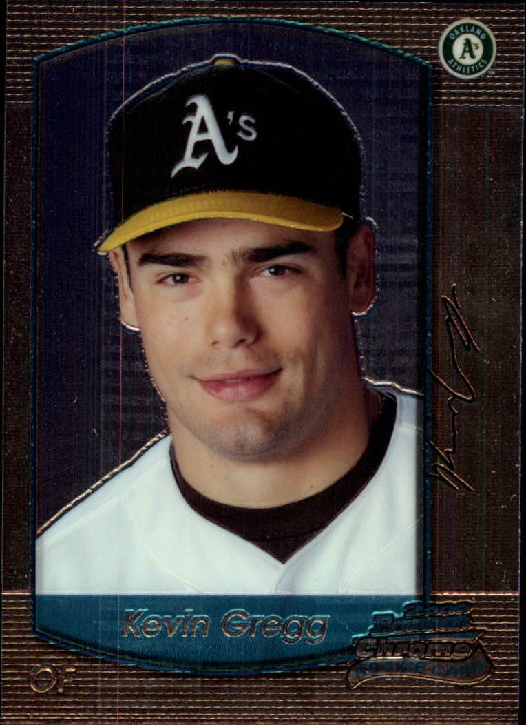 2000 Bowman Chrome Draft #19 Kevin Gregg RC