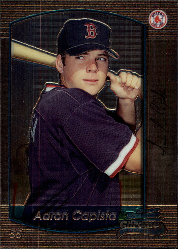 2000 Bowman Chrome Draft #21 Aaron Capista RC