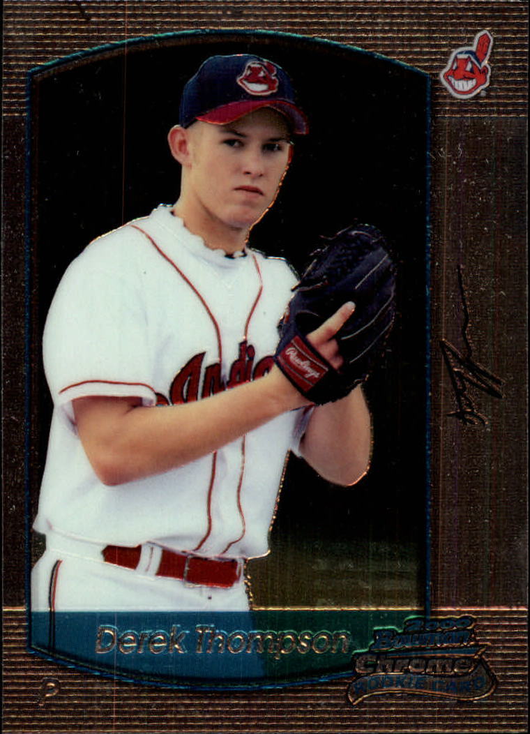 2000 Bowman Chrome Draft #23 Derek Thompson RC