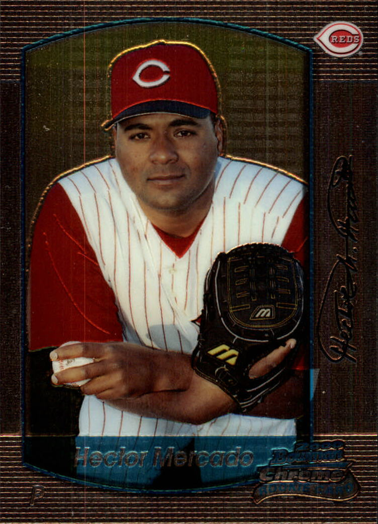 2000 Bowman Chrome Draft #27 Hector Mercado RC