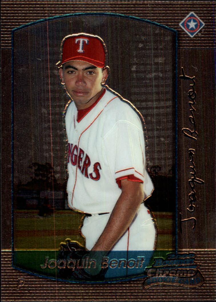 2000 Bowman Chrome Draft #36 Joaquin Benoit RC