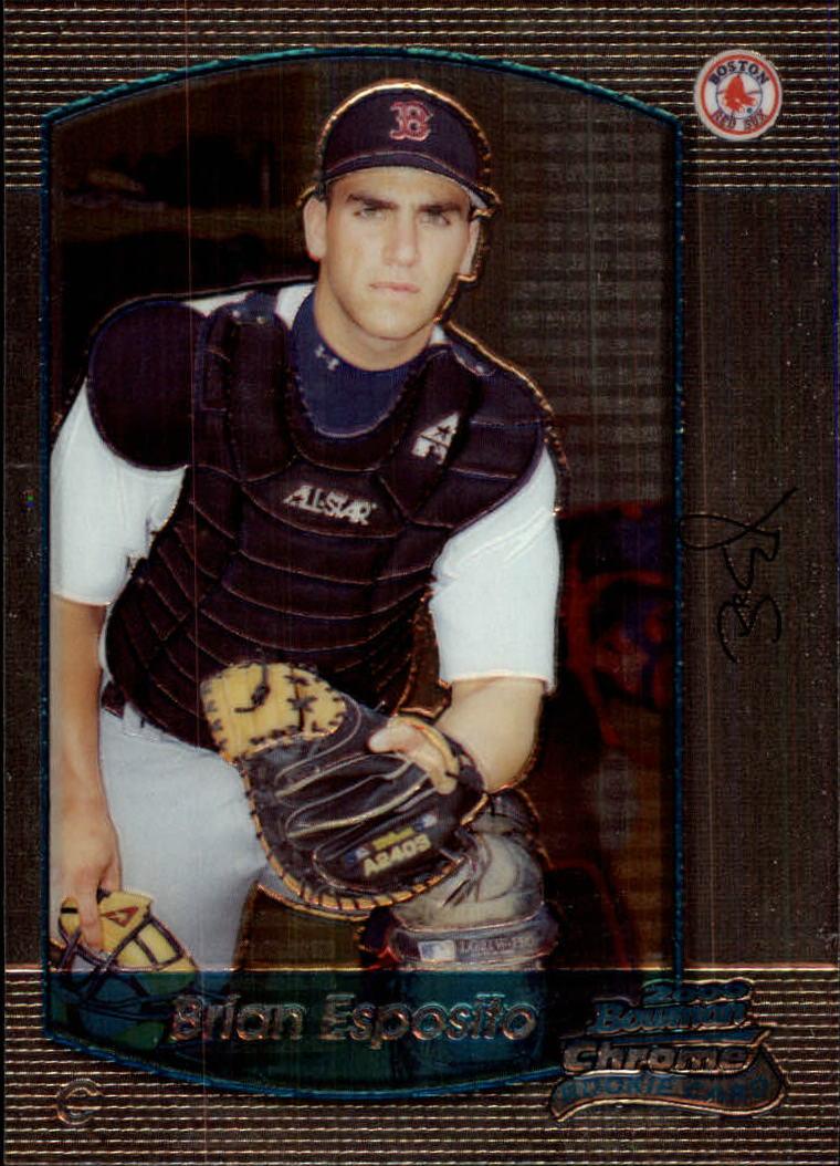 2000 Bowman Chrome Draft #37 Brian Esposito RC