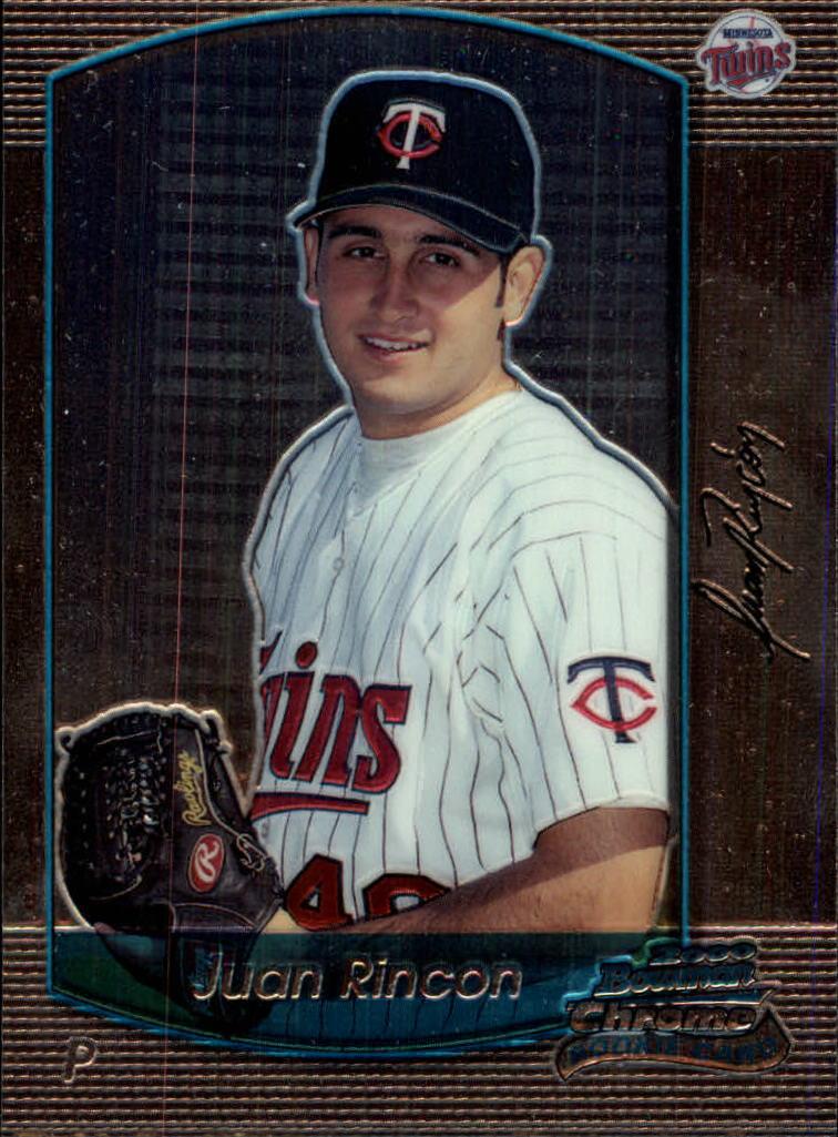2000 Bowman Chrome Draft #39 Juan Rincon RC