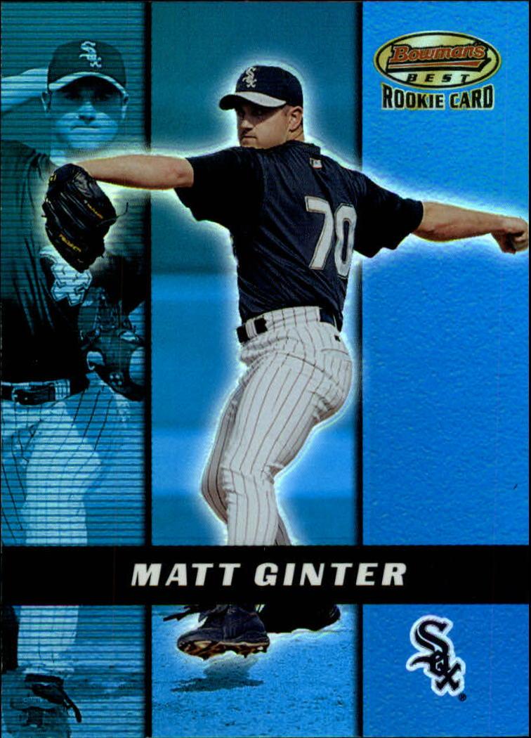 2000 Bowman's Best #176 Matt Ginter RC
