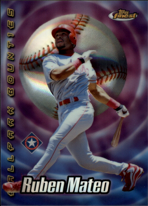 2000 Finest Ballpark Bounties #BB27 Ruben Mateo