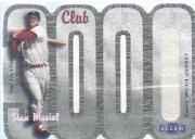2000 Fleer Club 3000 Memorabilia #SM3 S.Musial Jersey/975