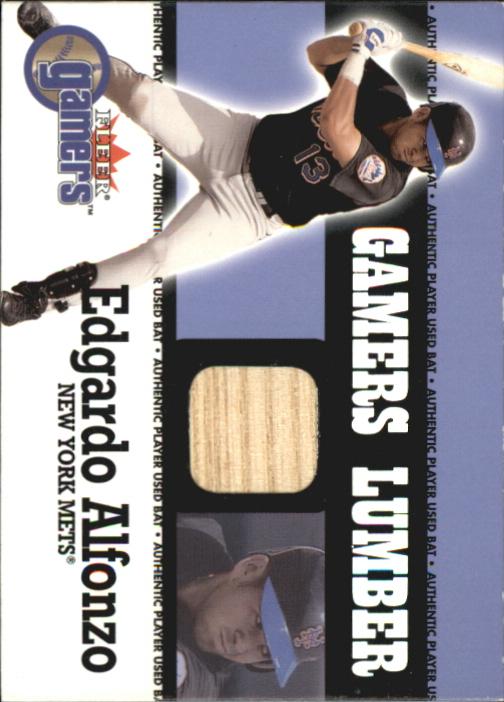 2000 Fleer Gamers Lumber #1 Edgardo Alfonzo