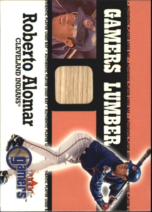2000 Fleer Gamers Lumber #2 Roberto Alomar